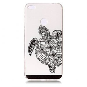 Cozy Hut Coque Huawei P8 Lite 2017, Coque Gel TPU Silicone Dessinez Motif pour Huawei P8 Lite 2017 – Housse Etui Protection Full Silicone Souple Ultra Mince Fine Slim, TPU avec Absorption