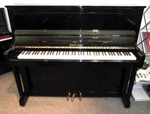 Klavier Marke Rieger Kloss Modell Konzert – schwarz poliert gebraucht