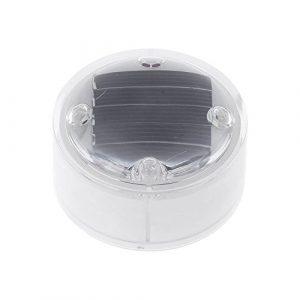 Matefield Lampe solaire à 4 LED pour jardin étanche