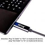 mise à jour de 【 】 Kytribe USB In-Out Midi Interface Converter/adaptateur avec câble Midi DIN 5broches pour PC/ordinateur portable/Mac