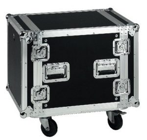Monacor MR-710 Coffre de transport Flightcase 10U