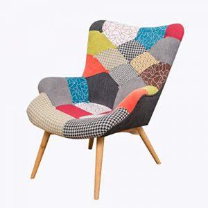 Nordic Single Sofa Chaise Moderne Minimaliste Petit Appartement Casual Tiger Chaise Chambre Balcon Paresseux Petit canapé inclinable,4
