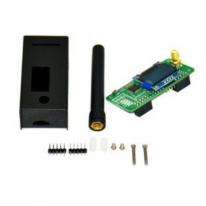 OUNONA antenne + Coque + OLED + Mmdvm Hotspot Support P25DMR Ysf pour Raspberry Pi Noir Mmdvm Hotspot antenne Coque OLED Support P25DMR Ysf Raspberry Pi