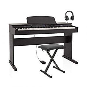 Piano Numérique DP-6 par Gear4music + Pack Accessoires