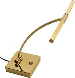 Steinbach LED Quartet de lampe de piano en laiton poli de qualité fabriqué en Allemagne
