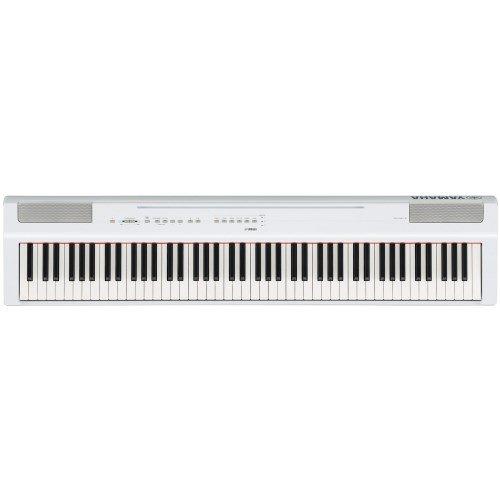 Yamaha p-125wh–Piano Digital, Blanc