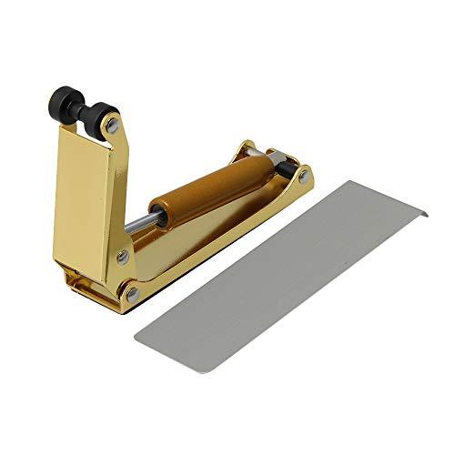 BQLZR Housse de protection extérieure pour piano avec poignée de serrage et poignée 10.2×7.6×2.7/4.01×2.99×1.06inch(LxHxW) doré