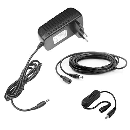 MyVolts Chargeur/Alimentation 12V Compatible avec Yamaha P-105 Clavier (Adaptateur Secteur) – Prise française – Premium