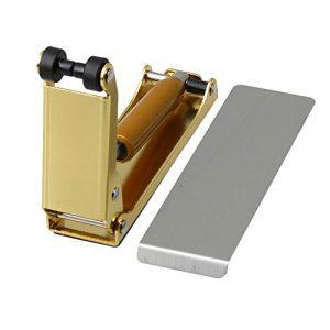 Yibuy Housse de coussin pour piano hydraulique et tampon humide 10.2×7.6×2.7/4.01×2.99×1.06 inch(LxHxW) doré