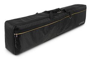 Fineway® – Sac de transport portable pour piano électrique 88 touches – Rembourré – Avec poches – En tissu Oxford 420 D, robuste et solide