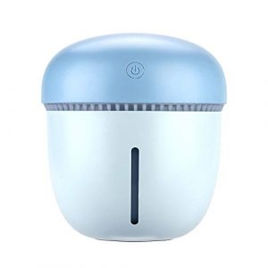 Oasics Humidificateur d'air à cône de pin Humidificateur de table Usb Humidificateur Anti Sèche Ultrasonique s bleu