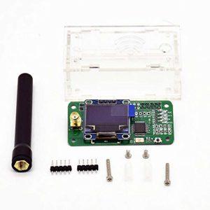 Duplex MMDVM Hotspot Support P25 DMR YSF Module+ Antenna + OLED + Exclouse Case For Raspberry Pi – Transparent