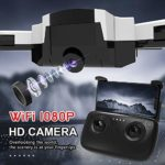 Oasics SG900-S Oasics RC Quadcoptère pliable 2,4 GHz Full 1080P HD Caméra WIFI FPV GPS Fixpunkt Drone Dimensions : 29 x 29 x 4 cm größe: 29X29 * 4CM B