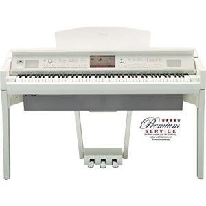 Yamaha–Piano Numérique Clavinova cvp-709pwh de 88touches
