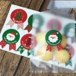Alexsix 80pcs Christmas Label Paper Sticker Gift Package Sealing Stickers for Cookie Candy Nuts Package X'mas Tree Snowman