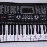 Kalaok Piano Clavier Autocollant Clavier Jouets Éducatifs