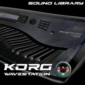 Korg Wavestation–Programme d'usine et de nouveaux Créé Bibliothèque de sons et Monteurs sur CD