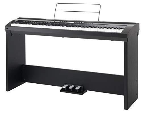 * lectri Piano Set Electrique Clavier Scène Digital Elect Digital Electric Piano Board Stage Pédales EQ/Midi USB Midi Clavier USB
