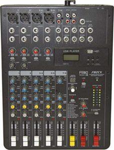 Montarbo FiveO F82CX Mixeur professionnel compact à 8 canaux avec effets