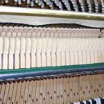 Klavier Marke Zimmermann Nußbaum hell gebraucht