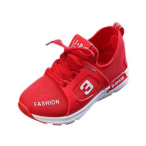 GongzhuMM Chaussures De Sport Fille Garçon 21-30 Été Sneakers Bébé Fille Garçon Respirant Mesh Mode Chaussures De Course Doux pour 1-6 Ans Fille Garçon