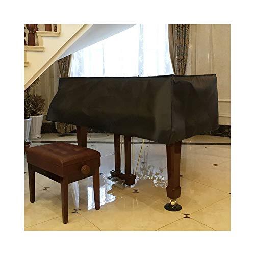 G-AO couverture piano épais PU tissu housse noir piano personnalisé matériel spécial avancé (couleur: noir) (Size : 210cm)