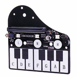 Nrpfell Pourmicro: Carte D'Extension Bit Piano Pour micro-Type: Carte De Développement Bit Carte De Développement Musical Rgb Lantern Buzzer