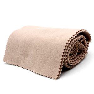 Andoer® – Chiffon de protection en laine douce contre la saleté pour clavier à 88 touches beige