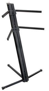 Classic Cantabile KS-100 Support de clavier double noir