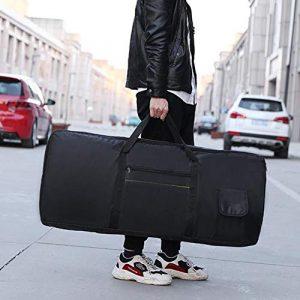 CVERY Étui de Protection pour Clavier Portable étanche Anti-Choc Professionnel avec Rembourrage 61 Touches