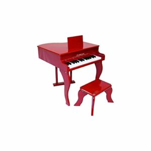 Delson 3005R Piano à queue pour enfant Rouge