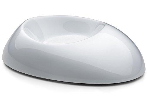 ForPiano Design Lot de 3 coques pour roulettes de piano en blanc poli noir poli
