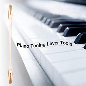 Jannyshop Bois Piano Treble Stick muet pour l'accordage du Piano, Bois Treble Rod Double-End Bar Piano Repair Tool Instrument de Musique Maintenir l'accessoire