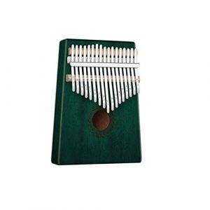 Kalimba, instrument de piano à doigt 17 tons, adapté aux débutants/professionnels for apprendre les instruments portables universels  (Color : H)