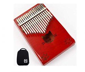 Kalimba, piano à pouce 17 tons, piano à pouce portable, convient aux enfants/adultes/débutants/professionnels for apprendre les instruments portables universels  (Color : D)