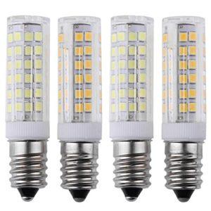 Matefield E14 2835SMD Ampoule en silicone pour lustre 75 LED 4,4 W