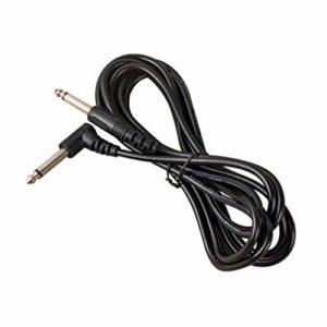 Milisten 10 Pcs Câble D'instrument de Guitare Cordon de Guitare pour Guitare Basse Clavier Effecteur Mélangeur de Microphone 6 35 Mm 3 Mètres