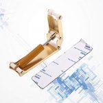 Milisten Piano Dispositif de Chute Lente Métal Pression Fallboard Décélérateur Couvercle Du Clavier Dispositif de Contrôle de Descente Doigt Garde Or
