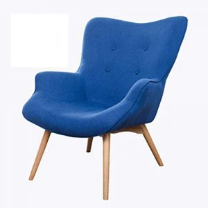 Nordic Single Sofa Chaise Moderne Minimaliste Petit Appartement Casual Tiger Chaise Chambre Balcon Paresseux Petit canapé inclinable,1
