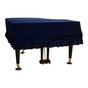 Orchidée verte Couverture de Piano, Housse de Piano Housse de protectuion en Velours d'or Accessoire de Piano