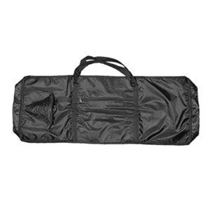 perfk Sac de Transport Antipoussière pour Piano Electronique à 61 Touches – Noir / 100x40x15cm