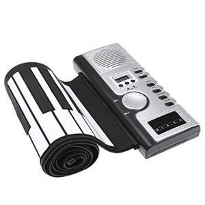 Piano Portable 61 Silicone Key Bend Scrollable Electronic Silicone Organ Orgue électronique portable