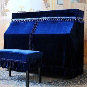 PIAOCHUANG Housse de Protection pour Tabouret Style européen, i, Klavierbezug + Doppelhocker Bezug 76 * 36