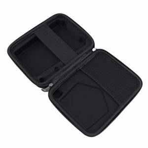 SHIJIAN Thumb Piano Case EVA Zipper Closer Hand Strap Mesh Elastic Organizer Piano Case Storage Bag