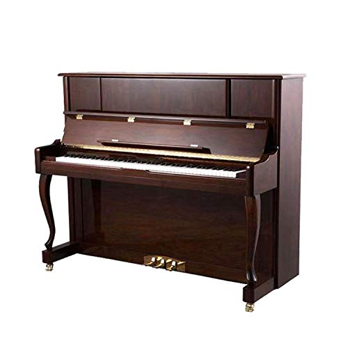 Snjin Piano Professionnel 88 Touches en Noyer