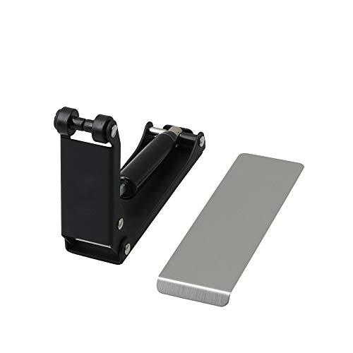 Sourcingmap Tampon externe en alliage de zinc pour piano Noir