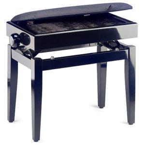 Stagg PB55 BKP VBK Banquette de piano Noir