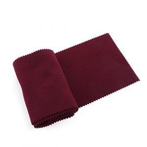 winomo 128* 15cm Clavier de piano Chiffon anti-poussière Clavier (Rouge)