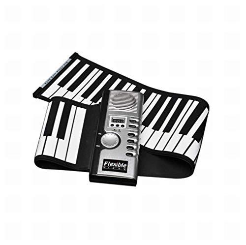 WYZXR Pliable 61 Touches Souple Souple numérique électrique Roll up Keyboard Piano, A, 1