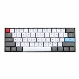 XiaoMall 61 touches ANSI Layout OEM Profil PBT Épais touches pour clavier mécanique 60%